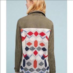 Anthropologie lightweight jacket.